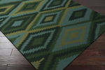 Surya Mesa MES-9001 Dark Forest/ Emerald/Kelly/Teal Closeout Area Rug - Spring 2015