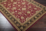 Surya Midtown MID-1013 Red/Black Closeout Area Rug - Fall 2015