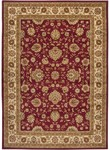 Surya Midtown MID-1015 Red/Ivory Closeout Area Rug - Spring 2015