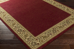 Surya Midtown MID-4740 Carmine/Tan/Golden Brown Area Rug