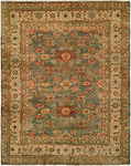 HRI Mahal MJ-14 Light Blue/Ivory Area Rug