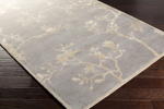 Surya Gluckstein Home Manor MNR-1008 Ash Grey/Ivory Area Rug