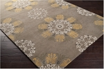 Surya B. Smith Mosaic MOS-1082 Brindle/Golden Raisin/Winter White Closeout Area Rug - Spring 2014
