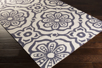 Surya Kate Spain Marseille MRS-2000 Cream/Cobalt Closeout Area Rug - Spring 2015