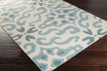 Surya Kate Spain Marseille MRS-2008 Beige/Teal/Teal Closeout Area Rug - Fall 2015