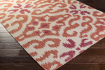 Surya Kate Spain Marseille MRS-2011 Beige/Rust/Cherry Closeout Area Rug - Fall 2015
