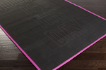 Surya Metal MTL-1000 Today Is The Day Dark Forest/Magenta Closeout Area Rug - Fall 2015