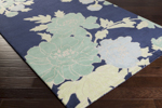 Surya Florence Broadhurst Mount Perry MTP-1001 Navy/Aloe/Lime Closeout Area Rug