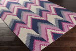 Surya Florence Broadhurst Mount Perry MTP-1003 Magenta/Navy/Ivory Closeout Area Rug - Fall 2015