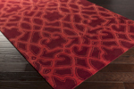 Surya Florence Broadhurst Mount Perry MTP-1007 Plum/Hot Pink Closeout Area Rug - Fall 2015