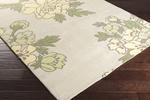 Surya Florence Broadhurst Mount Perry MTP-1021 Grey/Butter/Lime Closeout Area Rug - Fall 2015