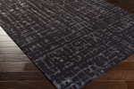 Surya Florence Broadhurst Mount Perry MTP-1025 Black/Navy Closeout Area Rug - Spring 2016