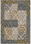 Surya Monterey MTR-1000 Parchment/Dark Slate Blue/Slate Grey Closeout Area Rug - Fall 2013