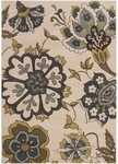 Surya Monterey MTR-1005 Parchment/Coffee Bean/Dark Slate Blue Closeout Area Rug - Fall 2013