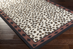 Surya Florence de Dampierre Nantes NAN-8001 Ivory/Dark Forest/Burgundy Closeout Area Rug - Spring 2015
