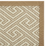 NATUREWEAVE NATKY IVORY/SAHARA-B - Nourison offers an extraordinary selection of premium broadloom, roll runners, and custom rugs.