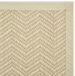 NATUREWEAVE NATWV IVORY/NATURAL-B - Nourison offers an extraordinary selection of premium broadloom, roll runners, and custom rugs.
