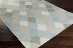 Surya Nia NIA-7001 Moss/Sky Blue/Ash Grey Closeout Area Rug - Fall 2015