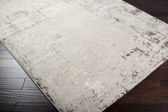 Surya Nuage Nua 1006 Light Grey Taupe Area Rug