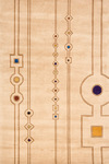 Momeni New Wave NW-101 Ivory Closeout Area Rug - Fall 2012