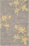 Surya Organic Modern OMR-1002 Grey/Yellow Closeout Area Rug - Fall 2013
