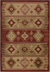 Surya Paramount PAR-1004 Red/Brown Closeout Area Rug - Fall 2012