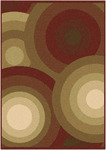 Surya Paramount PAR-1018 Red/Brown Closeout Area Rug - Fall 2012