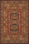 Momeni Persian Garden PG-16 Black Closeout Area Rug