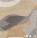 Surya Pigments PGM-3002 Taupe/Olive/Grey Closeout Area Rug - Spring 2015