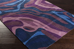 Surya Pigments PGM-3007 Navy/Iris/Mauve Closeout Area Rug - Fall 2015