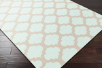 Surya Picnic PIC-4003 Mint/Taupe Closeout Area Rug - Fall 2015