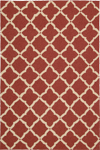 Nourison Portico POR01 Red Closeout Area Rug