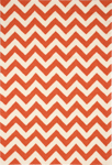 Nourison Portico POR03 Orange Closeout Area Rug