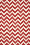 Nourison Portico POR03 Red Closeout Area Rug
