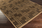 Surya Papyrus PPY-4900 Chocolate/Gold Closeout Area Rug - Spring 2015