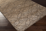 Surya Papyrus PPY-4904 Taupe/Chocolate/Olive Closeout Area Rug - Spring 2015