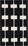 Surya Paule Marrot Printemps PRN-1000 Black Olive/Icicle Closeout Area Rug - Fall 2014