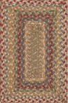 Surya Country Living Provincial PRO-4005 Khaki/Maroon/Slate Blue Closeout Area Rug