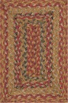 Surya Country Living Provincial PRO-4008 Golden Raisin/Clover/Pine Green Closeout Area Rug - Spring 2013