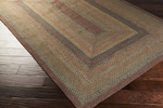 Surya Country Living Provincial PRO-4013 Wenge/Army Green/Caviar Closeout Area Rug