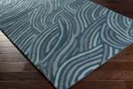 Surya Perspective PSV-39 Teal/Moss/Teal Closeout Area Rug