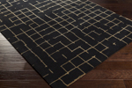 Surya Pursuit PUT-6000 Charcoal/Mocha Area Rug