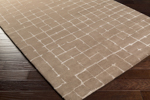 Surya Pursuit PUT-6001 Taupe/Light Grey Area Rug