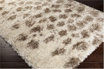 Surya Rhapsody RHA-1008 Papyrus/Tan/Dark Chocolate Area Rug
