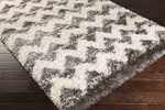 Surya Rhapsody RHA-1028 Charcoal/Ivory Closeout Area Rug - Fall 2015