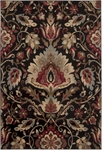Surya Riley RLY-5018 Jet Black/Camel/Sienna Closeout Area Rug - Spring 2015