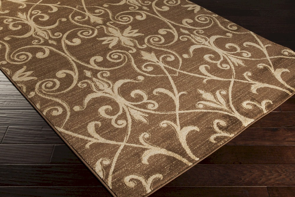 Surya Riley Rly 5048 Chocolate Beige Closeout Area Rug