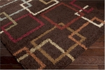 Surya Rosario RSO-4602 Brown/Red Clay/Sage Green Closeout Area Rug - Fall 2014