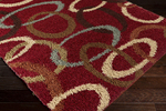Surya Rosario RSO-4604 Venetian Red/Putty/Red Clay Closeout Area Rug - Fall 2014