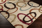 Surya Rosario RSO-4605 Putty/Venetian Red/Brown Closeout Area Rug - Fall 2014